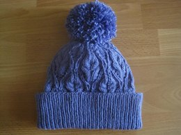 Lydia Lace & Cable Beanie