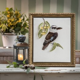 Rajmahal Kookaburra Embroidery Kit