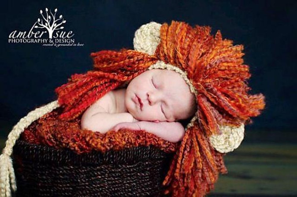 Baby Lion Hat - Leo the Lion Crochet pattern by Ava Girl Designs d1327eaa7f5