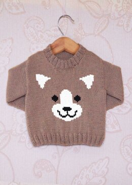 Intarsia - Dog Face Chart & Childrens Sweater