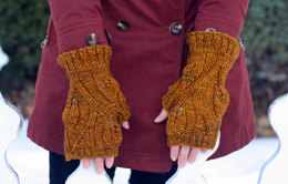 Fairy Mitts in Dream in Color Classy with Cashmere