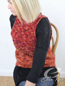 Petra Vest in Ella Rae Lace Merino Chunky - ER23-01 - Downloadable PDF