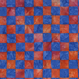 Kaffe Fassett Artisan Chess fabric - Red