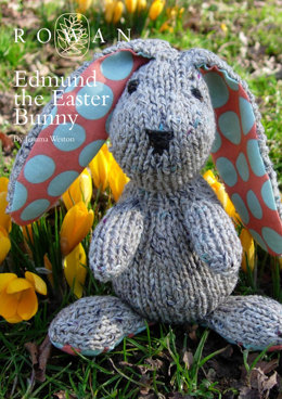 Edmund The Easter Bunny Toy in Rowan Purelife Revive