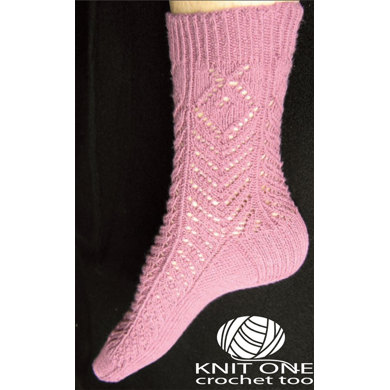 Knit One Crochet Too : Thistle Socks by Knit One Crochet Too Pediwick - 1816 - Downloadable ...