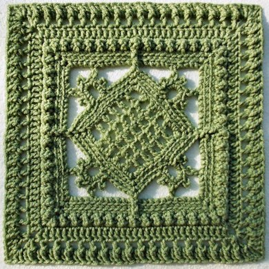 """Counterpoint 12"""" Afghan Block"""