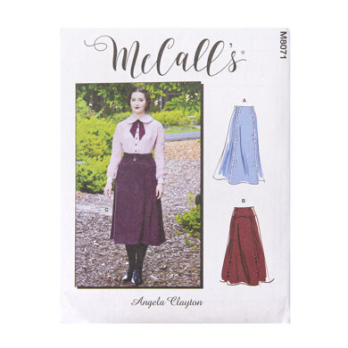 McCall's Misses' Historical Skirt M8071 - Sewing Pattern
