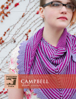 Campbell Shawl in Juniper Moon Farm Neve - Downloadable PDF