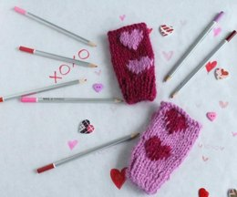 Children's Valentine's mitts