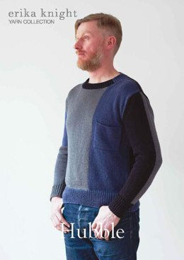 Hubble Sweater in Erika Knight Gossypium Cotton - Downloadable PDF