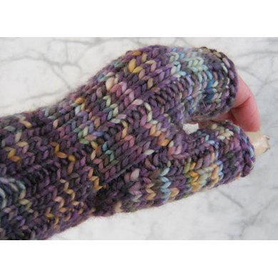 Basic Ribbed Mitts
