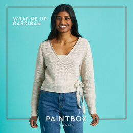 Wrap Me Up Cardigan - Free Cardigan Crochet Pattern For Women in Paintbox Yarns Cotton 4 Ply by Paintbox Yarns