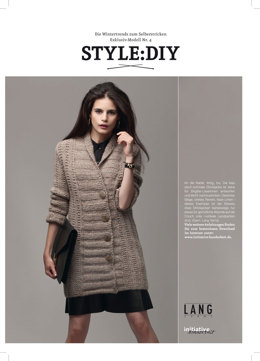 Jacke-DIY in Lang Yarns Malou