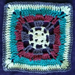 Juliette V Stitch Square