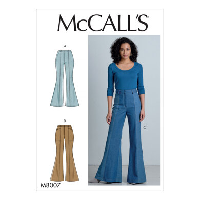 McCall's Misses' Pants M8007 - Sewing Pattern