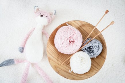 Foxie the pink fox knitting project by na yeo loveknitting - Pink fox instagram ...