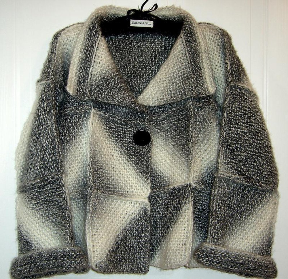 Knitting Patterns For Winter Jackets : Winter Jacket (allsquareknits) Knitting pattern by Pat Watson Knitting Patt...