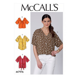 McCall's Misses' Tops M7976 - Sewing Pattern