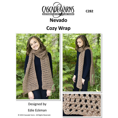 Cozy Wrap in Cascade Nevado - C282