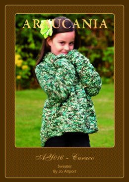 Girls Sweater in Araucania Curaco - AY016