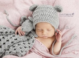 Baby Mouse Lovey Crochet Pattern 375