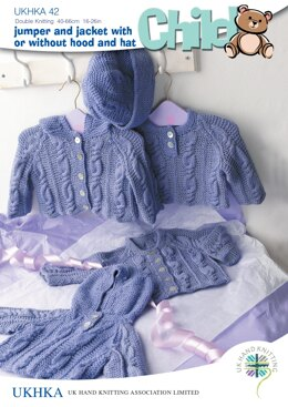UKHKA 42 Jumper and Jacket With or Without Hood and Hat - UKHKA42pdf - Downloadable PDF