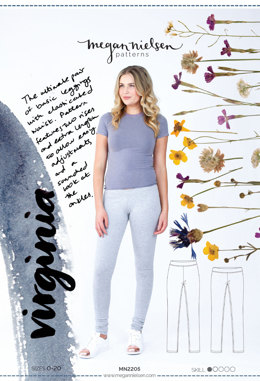 Megan Nielsen Virginia Leggins MN2205 - Sewing Pattern