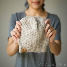 The Dotty Beanie & Duo-Color Dotty Beanie