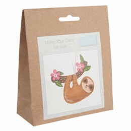 Trimits Felt Decoration Kit: Sloth