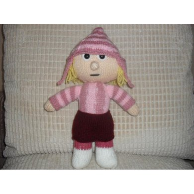 Edith Despicable Me Knitting Pattern By Madknit Knitting Patterns
