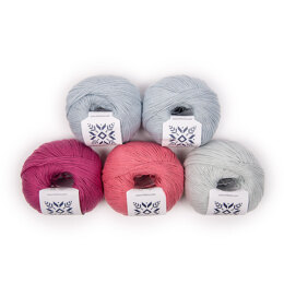 MillaMia Naturally Soft Cotton 5 Ball Colour Pack Trends