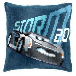 Vervaco Jackson Storm Cars Storm Cross Stitch Kit