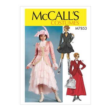 McCall's Misses' Costume M7853 - Sewing Pattern