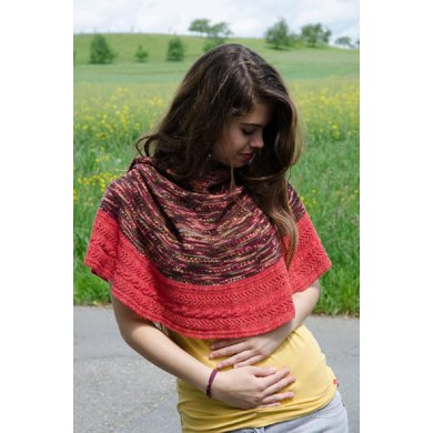 Color Twister Shawl