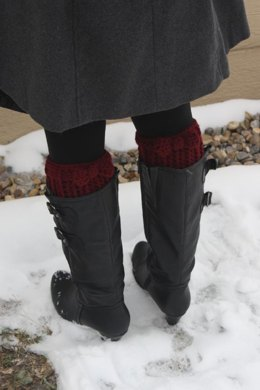 Bow Boot Cuffs Pattern