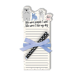 Lady Jayne Notepad with Pen - Dog People