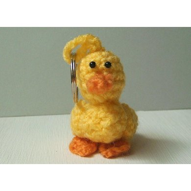 Daisy the Duck key chain