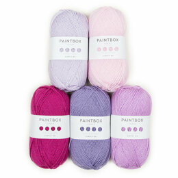 Paintbox Yarns Simply DK Bella Coco 5 Ball Color Pack