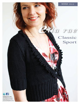 Noosa Cropped Cardigan in Ella Rae Classic Sport - ER03-06 - Downloadable PDF