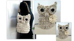 896 - OWL Basket or Purse