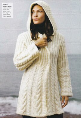 bd05e4ad8501 Cable Hooded Jacket. £3.75. off. Downloadable pattern. Independent  Designer. By Sian Brown