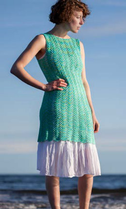 Sea Vines Dress in Hand Maiden Flyss