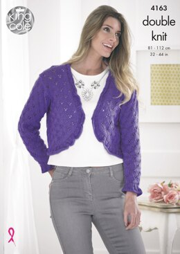 Sweater and Bolero in King Cole DK - 4163 - Downloadable PDF