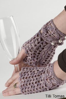 Afternoon Tea Fingerless Gloves