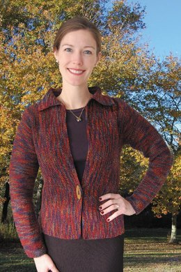 Side-to-Side Cardigan to Knit