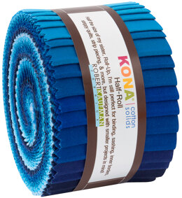 Robert Kaufman Kona Cotton Solids 2.5in Strip Roll - HR-154-24