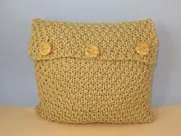 Superfast Double Moss Stitch Cushion Cover