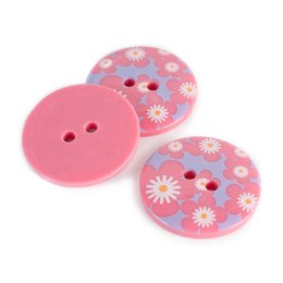 Floral Pattern Button