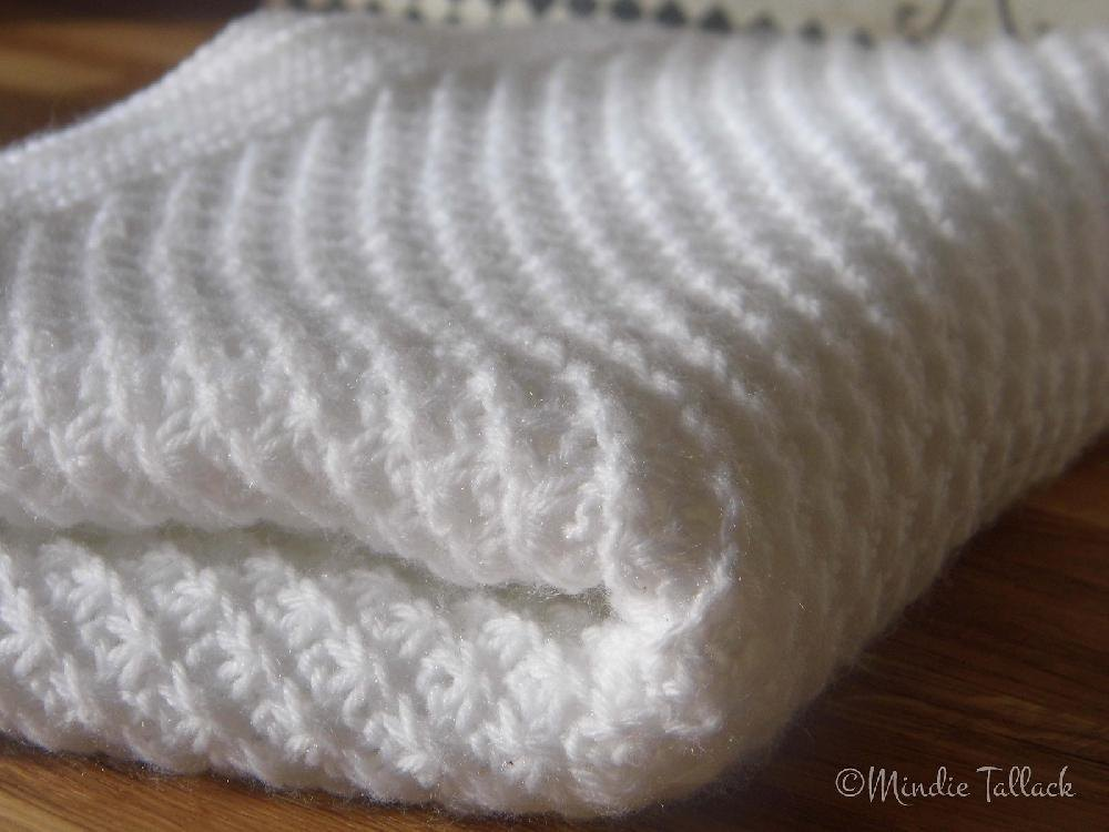 Gracie Baby Blanket Knitting pattern by Knit & Purl Makes