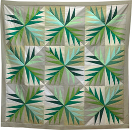 Michael Miller Fabrics Evergreen Quilt - Downloadable PDF